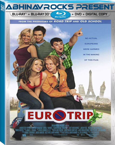 EuroTrip 2004 UNRATED Hindi Dubbed Dual Audio BRRip 720p