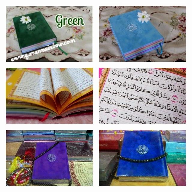 al-quran, al-quran pelangi, al-quran pelangi falistya,al-quran pelangi murah
