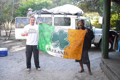 Wrong Way, the Irish flag & 'Nick the Abo' on Australia's Frasier Island
