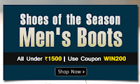 Homeshop18 : All Men Shoe's Under Rs. 1500 : BuyToEarn