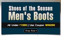 Homeshop18 : All Men Shoe's Under Rs. 1500 : BuyToEarn