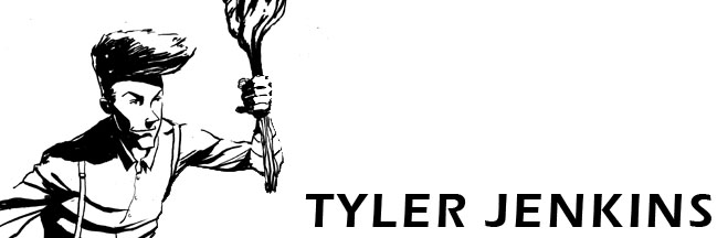 Tyler Jenkins - illustrator & comic artist