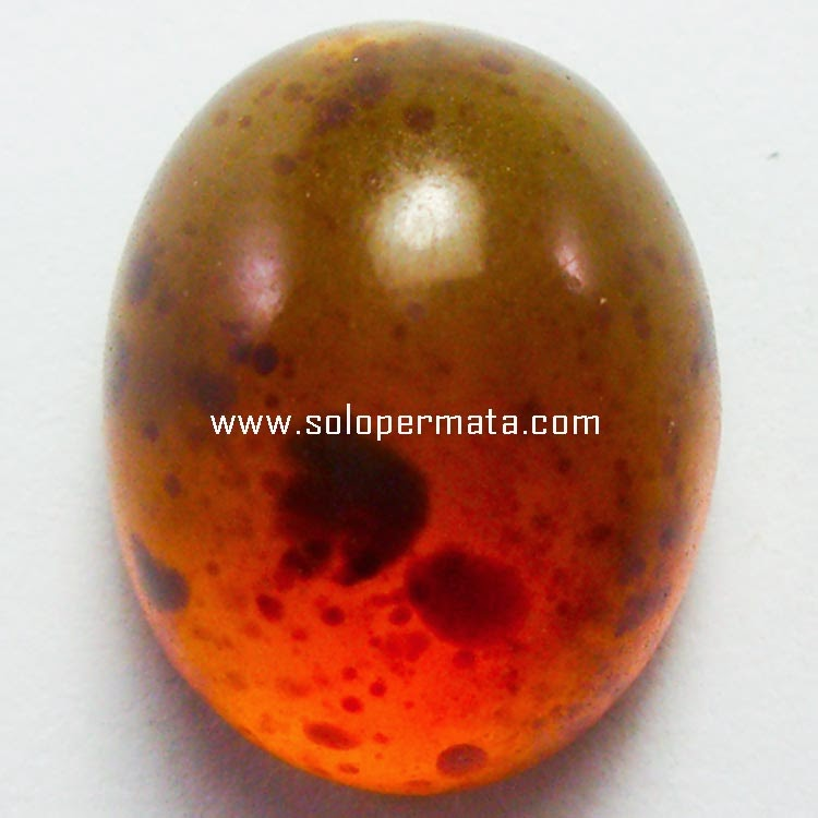 Batu Permata Color Change Amber+Memo