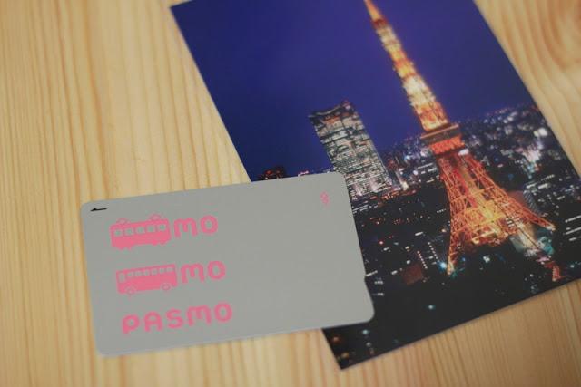 PASMO Card. El Cuaderno de Pili