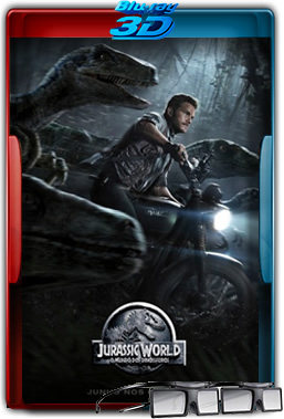 Jurassic World O Mundo dos Dinossauros Torrent 3D