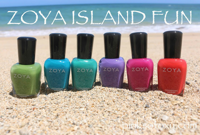 Zoya Paradise Sun Collection