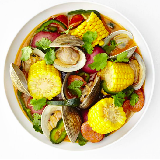 Clambake With Chorizo