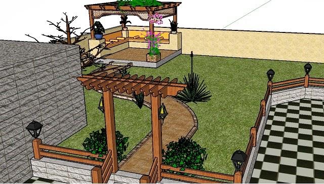 jardines que me gustan: google sketchup: herramienta social