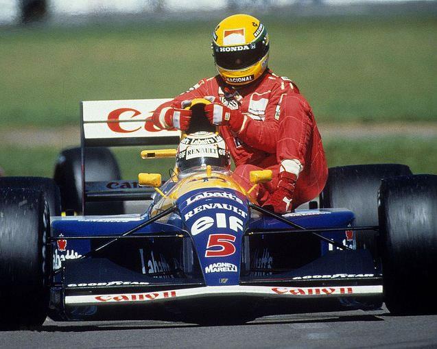 GP Da Inglaterra de F1, Silverstone em 1991 - pordentrodosboxes.blogspot.com