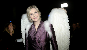 Jane Lynch is popping up everywhere these days.
