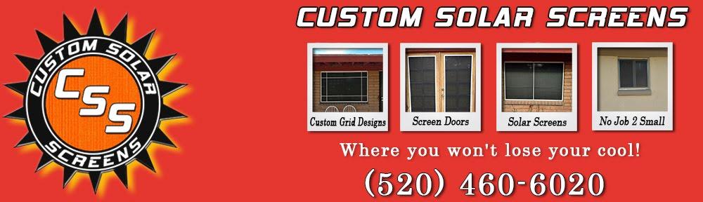 Custom Solar Screens, LLC