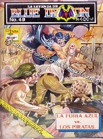 La Leyenda de Blue Demon No.49