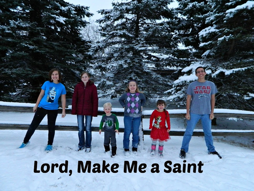 Lord, Make Me a Saint