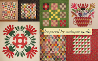 INSPIRED BY ANTIQUE QUILTS