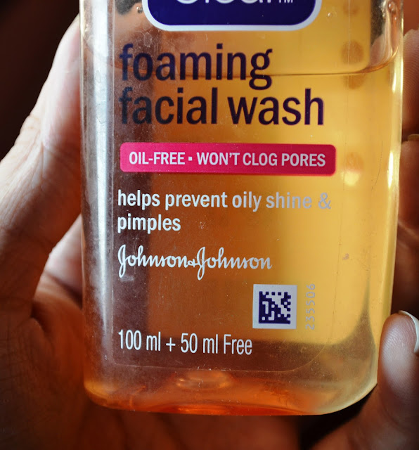 Clean and Clear Foaming Facial Wash Review and Pictures