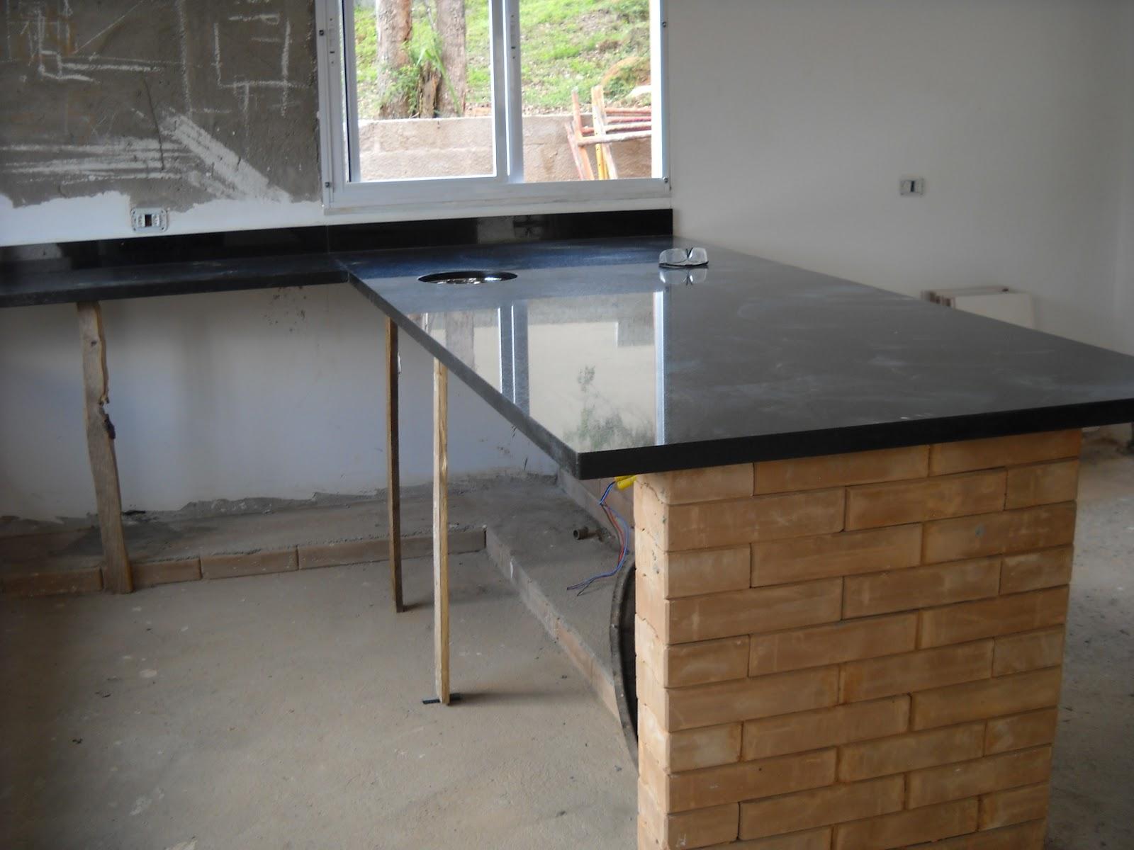 Nossa casa nosso jeito de viver 20 novembro 2012 # Ilha Cozinha Tijolo