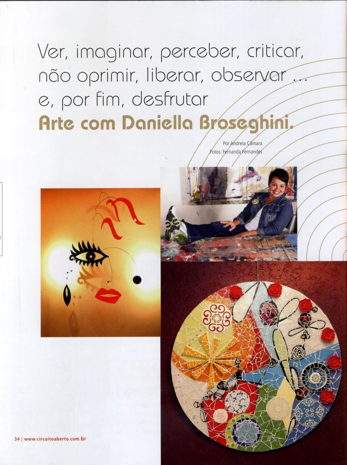 Circuito Aberto : Daniella broseghini: revista circuito aberto