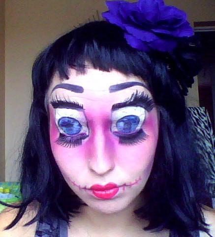 Coskinel beauty tips maquillage halloween - Maquillage poupee halloween ...