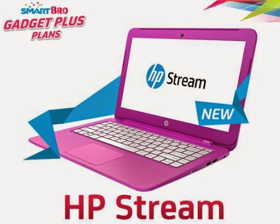 HP Stream 11 Now Available at Smart Bro Gadget Plus Plan 999
