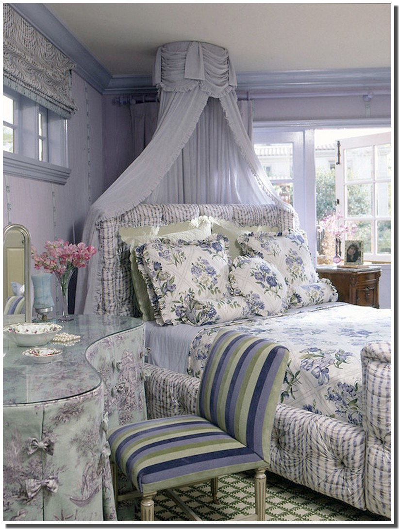 du romantique cottage on pinterest shabby shabby chic and toile - Lambris Chambre Shabby Chic