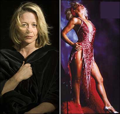 Culturismo femenino desnudo