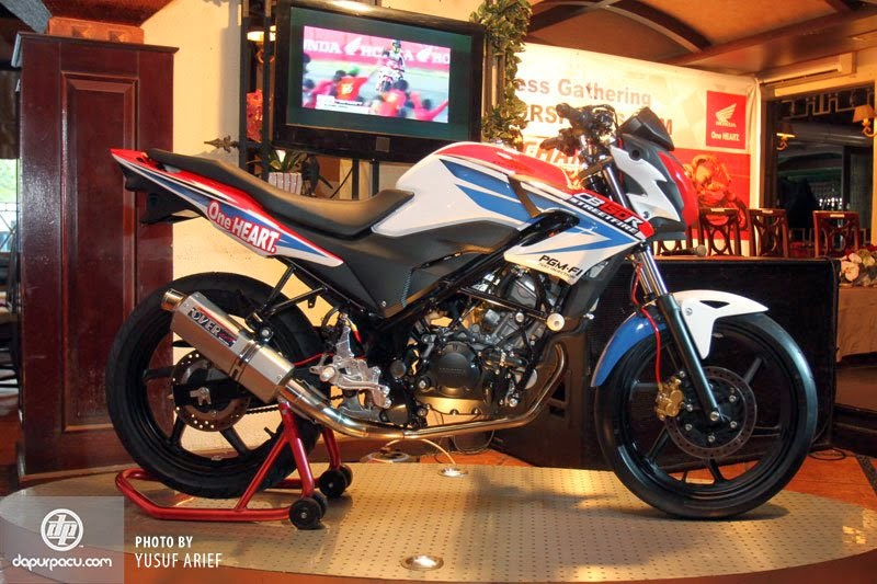 Foto Modifikasi Honda CB150R Street Fighter