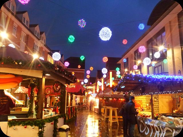 Canterbury Christmas, Christmas market, sensory Christmas toddler