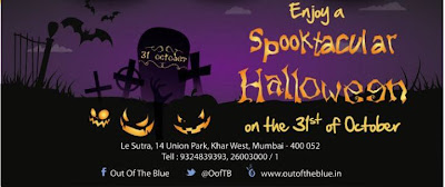 Halloween Night at Out of the blue