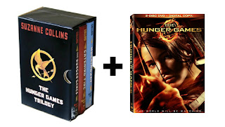 hunger games books trilogy box set and hunger games dvd