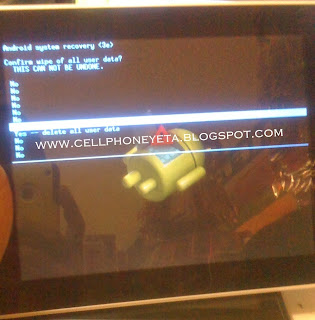 How To Hard Reset Android Tablet Coby Kyros MID 8048
