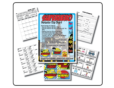 https://www.teacherspayteachers.com/Product/Superhero-Theme-Behavior-Management-Toolkit-Behavior-Clip-Chart-1927699