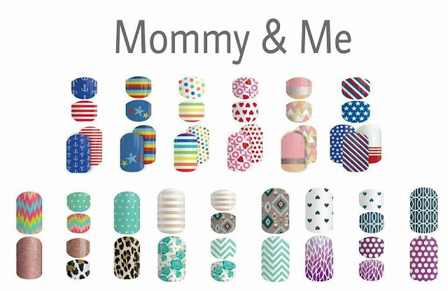Jamberry mommy and me nail wraps