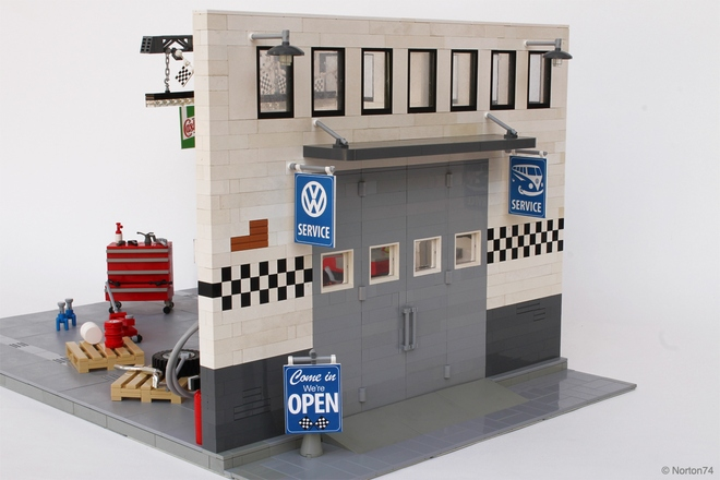 lego garage ideas - Lego Ideas GARAGE LIFE VOLKSWAGEN Service and Repair