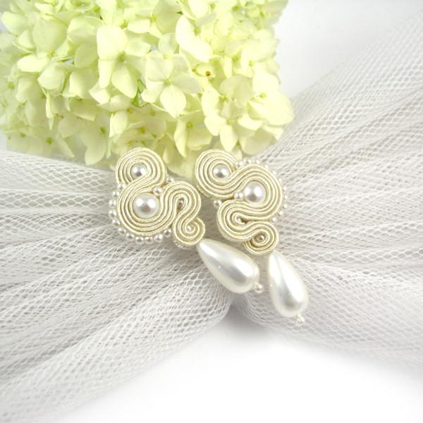 elegancka biżuteria ślubna sutasz perłowa