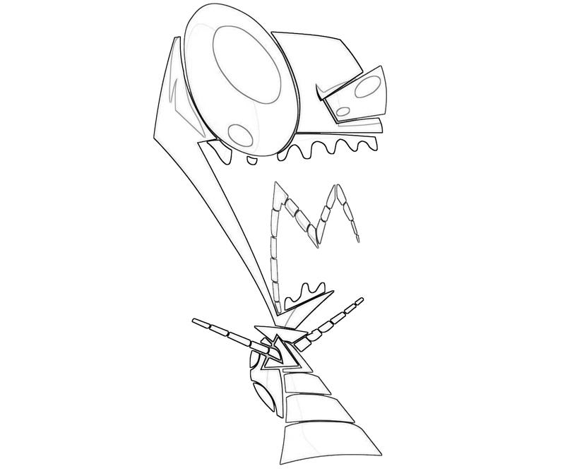 printable-invader-zim-look_coloring-pages-1