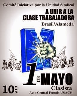1º DE MAYO UNIR A LA CLASE TRABAJADORA