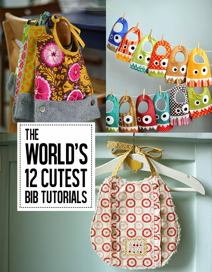 12 of The Cutest Bib Tutorials Ever
