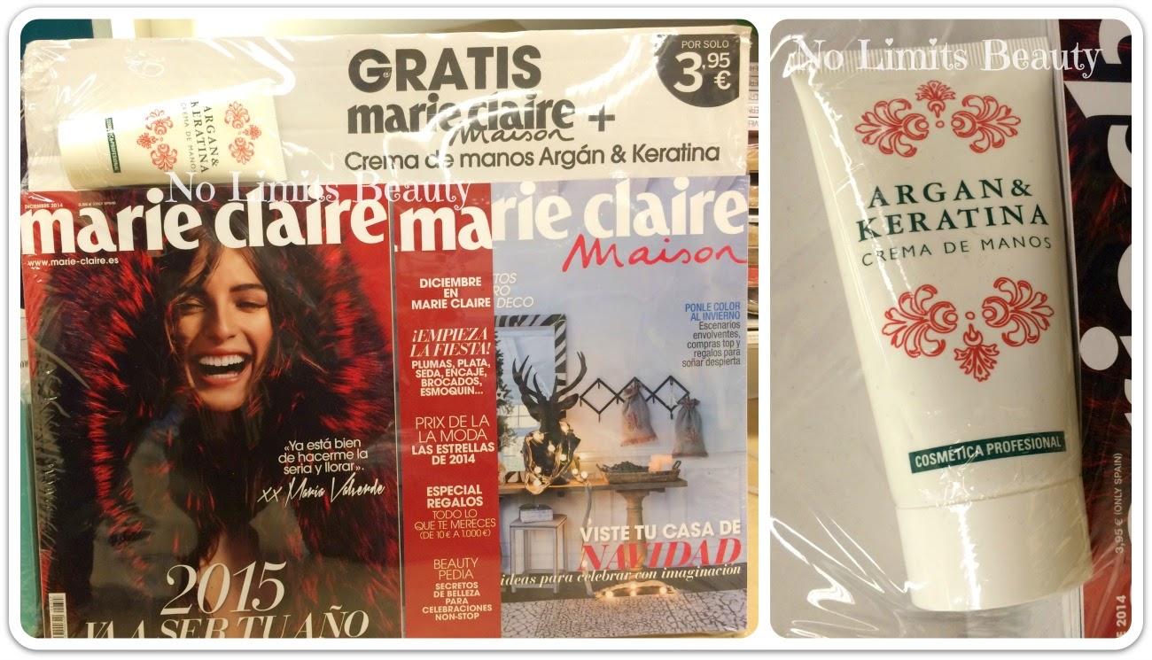 Regalos revistas Diciembre 2014: Marie Claire
