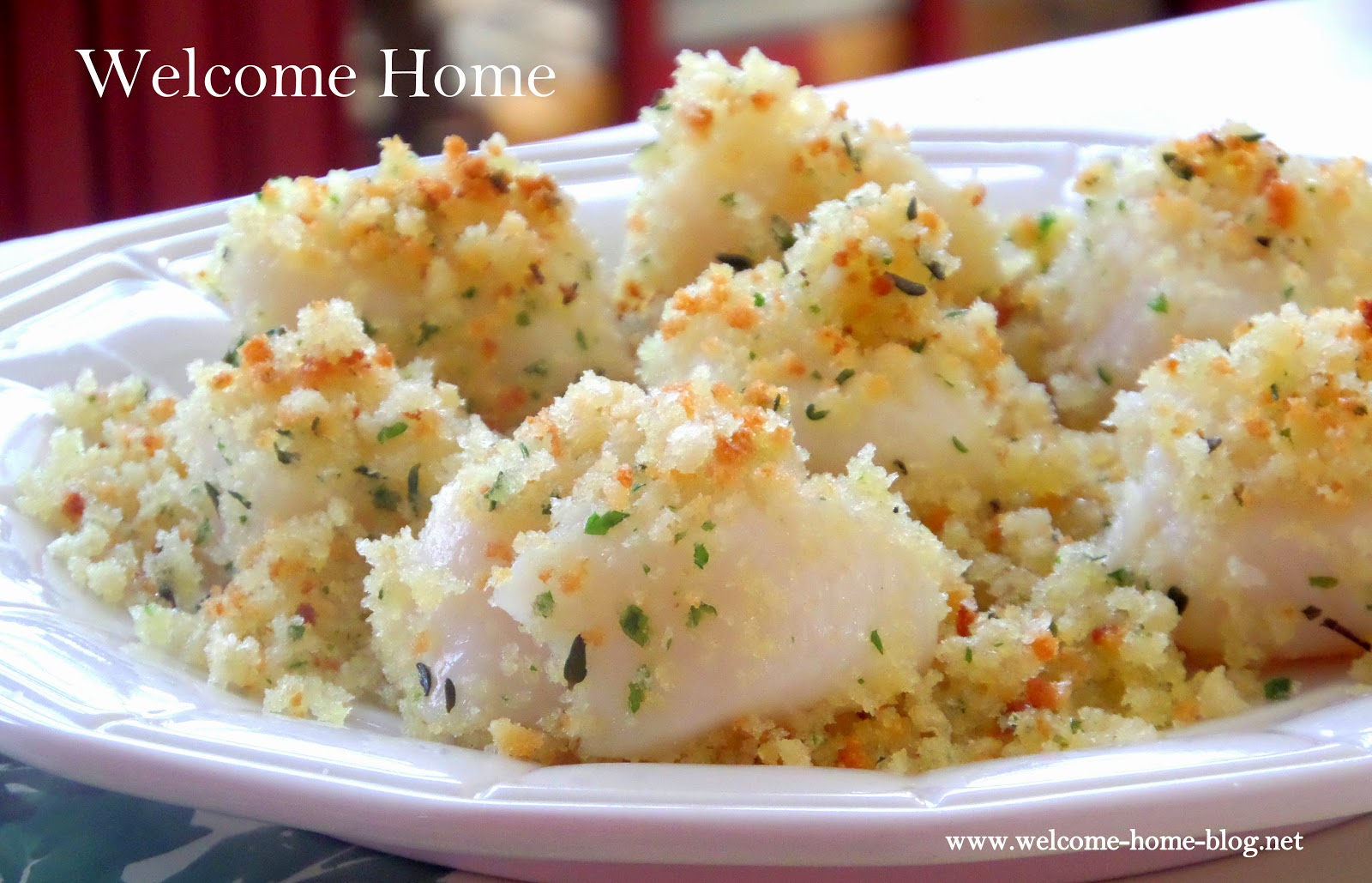 Welcome Home Blog: Baked Panko Scallops (Scallops Al Forno)