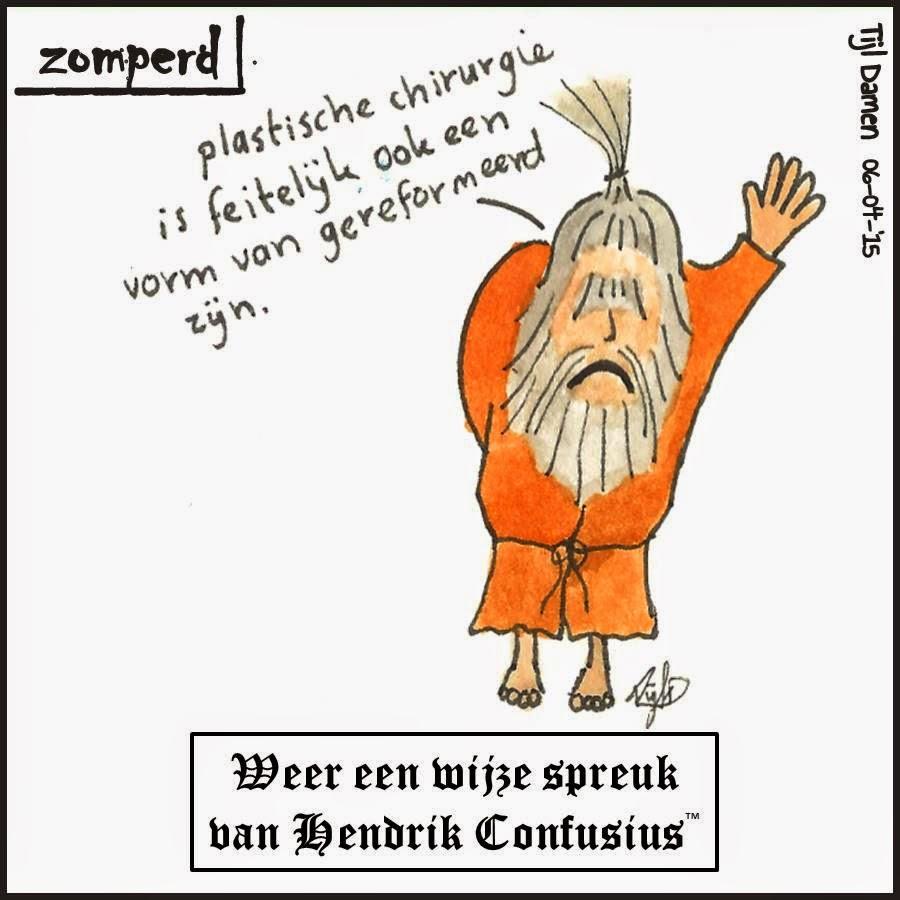 Zomperd: Weer een wijze spreuk van Hendrik Confusius