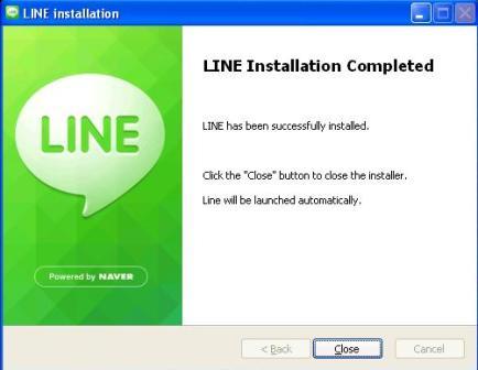Nah kalau sudah selesai buka aplikasi Line yang sudah di instal tadi