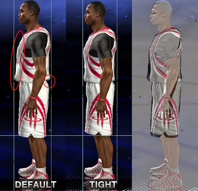 NBA 2K14 Tight Jerseys Patch