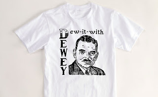 first political T-shirt Dewey