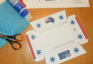 Australia Day Snack Box Printable
