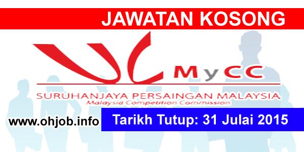 Jawatan Kerja Kosong Suruhanjaya Persaingan Malaysia (MyCC) logo www.ohjob.info julai 2015