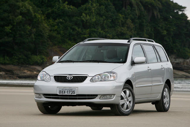 Toyota Corolla Fielder 2004 a 2007 - recall