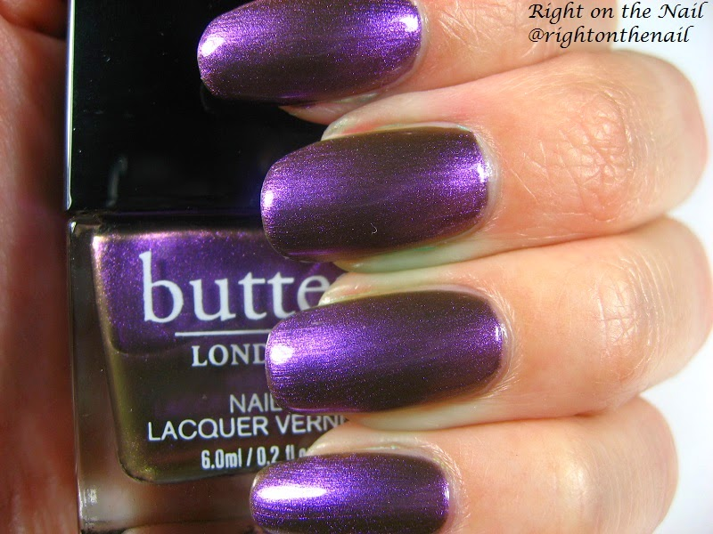 Right on the Nail: Butter London Glam Rock Nail Lacquer Set Swatch ...