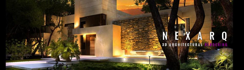 Renders,  Arquitectura 3D,  Animación y Video | NEXARQ 3D|