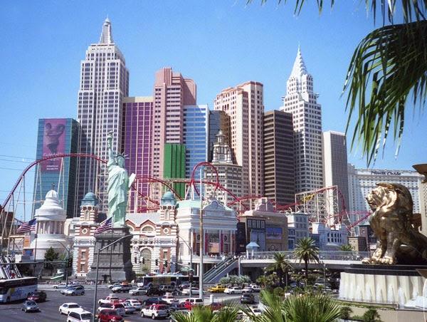 Las Vegas Skyline New York New York