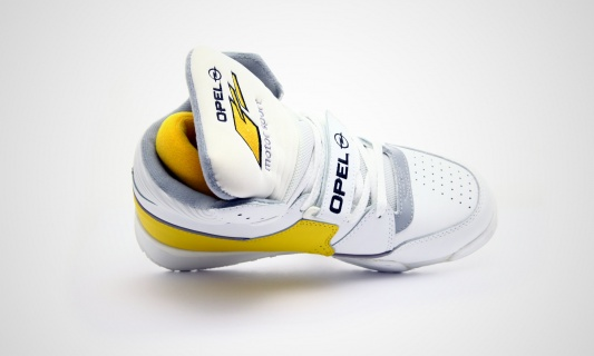 Opel Motorsport OMS Sneaker yellow white